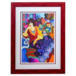 "Patricia Govezensky- Original Watercolor ""Eva"""