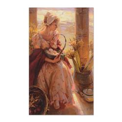 """Dan Gerhartz, """"Early Morning Warmth"""" Limited Edition on Canvas, Numbered and Hand Signed with Letter"""
