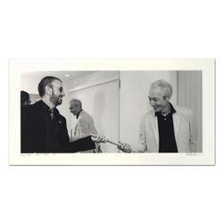 "Rob Shanahan, ""Ringo Starr & Charlie Watts"" Hand Signed Limited Edition Giclee with Certificate of A"