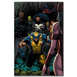 "Marvel Comics ""Shadowland #4"" Numbered Limited Edition Giclee on Canvas by Billy Tan with COA."