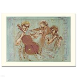 """Trio"" Limited Edition Lithograph by Edna Hibel (1917-2014), Numbered and Hand Signed with Certifica"