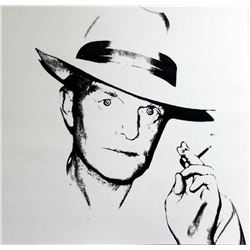"Andy Warhol- Screenprint in colors ""Truman Capote, 1984, White"""