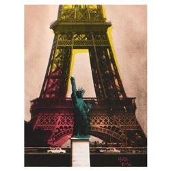 "Ringo Daniel Funes, (Protege of Andy Warhol's Apprentice, Steve Kaufman), ""Eiffel Tower"" One-of-a-Ki"