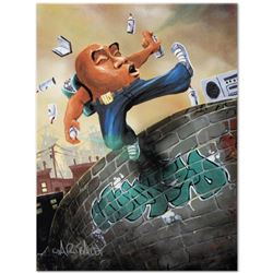 """""""Humpty Dumpty"""" Limited Edition Giclee on Canvas (27"""" x 36"""") by David Garibaldi, E Numbered and Sign"""