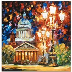 """Leonid Afremov (1955-2019) """"Twinkling of the Night"""" Limited Edition Giclee on Canvas, Numbered and S"""