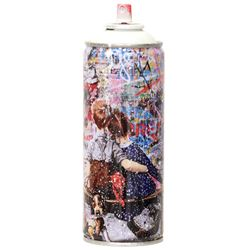 "Mr. Brainwash- SPRAY CAN ""WORK WELL TOGETHER, 2020"""