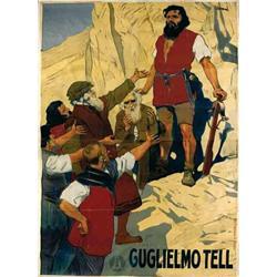 Mute movie poster - GUGLIELMO TELL