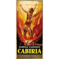 Mute movie poster - CABIRIA