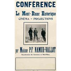 Mute movie poster - LE MONT-BLANC