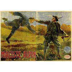 Mute movie poster - MACISTE ALPIN