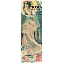 Mute movie poster - TOSCA