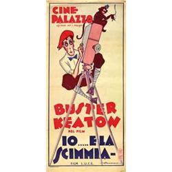 Mute movie poster - IO .. E LA SCIMMIA
