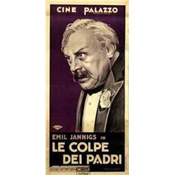 Mute movie poster - LE COLPE DEI PADRI