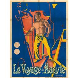 French mute movie poster - MACISTE