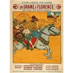 French mute movie poster - FLORANCE