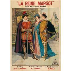 French mute movie poster - MARGOT