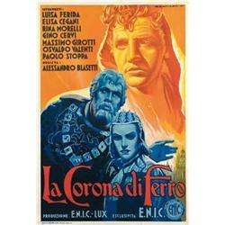 Italian movie poster - LA CORONA