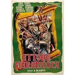 Italian movie poster - FIERAMOSCA