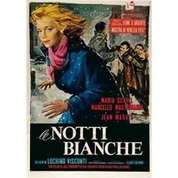 Italian movie poster - MASTROIANNI