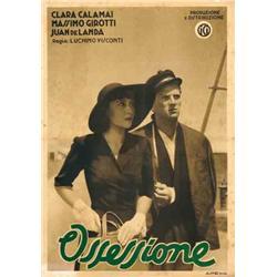 Italian movie poster - OSSESSIONE