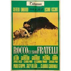 Italian movie poster - VISCONTI