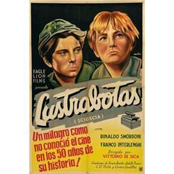Italian movie poster - LUSTRABOTAS