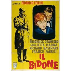 Italian movie poster - IL BIDONE