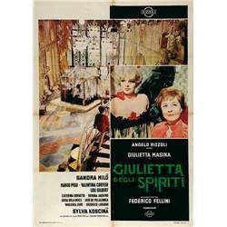 Italian movie poster - FELLINI