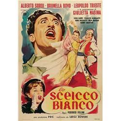 Italian movie poster - LO SCEICCO