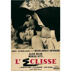 Italian movie poster - L'ECLISSE