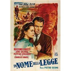 Italian movie poster - LEGGE