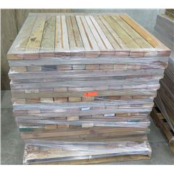"Pallet Multiple Wood Planks 38"" L x 3-1/2""W  x 1/2"""