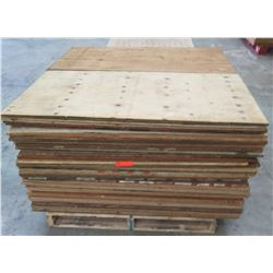 "Pallet Multiple Plywood Sheets 48""L x 24"" W x Mix"
