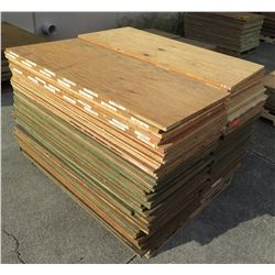 "Pallet Multiple Plywood Sheets 48""L x 24"" W x Mix (1/2"" & 3/4"")"