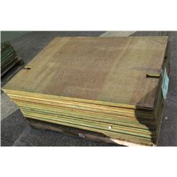 "Pallet Multiple Plywood Sheets 48""L x 36"" W x 5/8"""