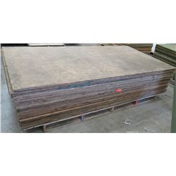 "Pallet Multiple Plywood Sheets 96""L x 48"" W x 3/4"""