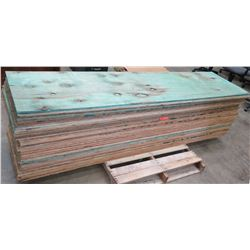 "Pallet Multiple Plywood Sheets 96""L x 24"" W x 1/2"""