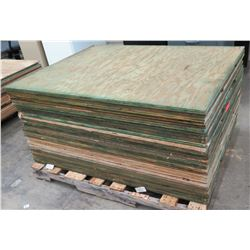 "Pallet Multiple Plywood Sheets 48""L x 36"" W x 3/4"""