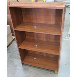 Wood 3 Tier Book Shelf