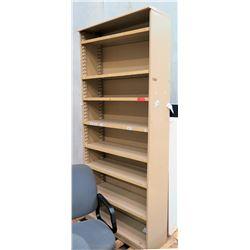 Tall 8 Tier Book Case w/ Adjustable Shelves