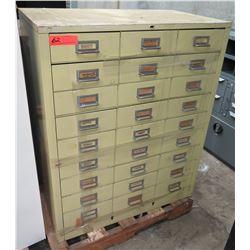 Metal Organizer Cabinet w/ 27 Drawers