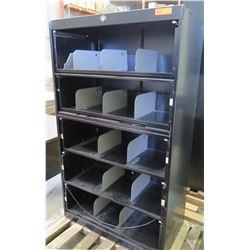 Metal Organizer Cabinet w/ 5 Drawers & 12 Adjustable Separators