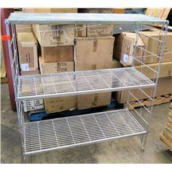 Metal Wire 2 Tier Storage Shelf