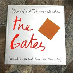 Christo & Jean-Claude, Central Park, New York, Signed The Gates Book & Artifact