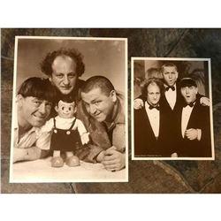 Three Stoogies Sepia Photo Prints