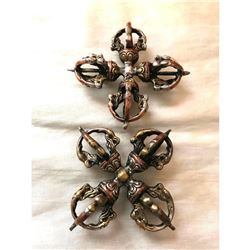 Pair of Oriental Decorative Throwing Stars, Weapons