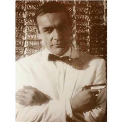 James Bond, Sean Connery Sepia Photo Print