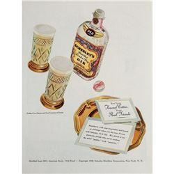 1940 Schenley's London Dry Gin Ad