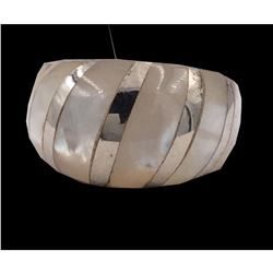 Mother of Pearl & Sterling Silver Dome Ring