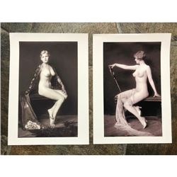 Pair of French Art Deco Nudes